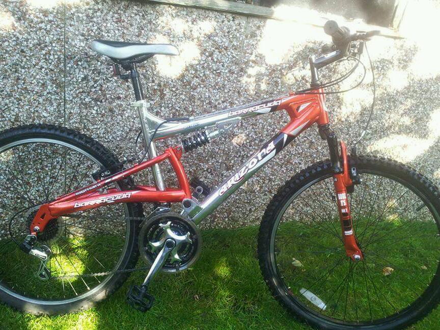 Gumtree Idle Yorkshire arizona bike barracuda West in wt084