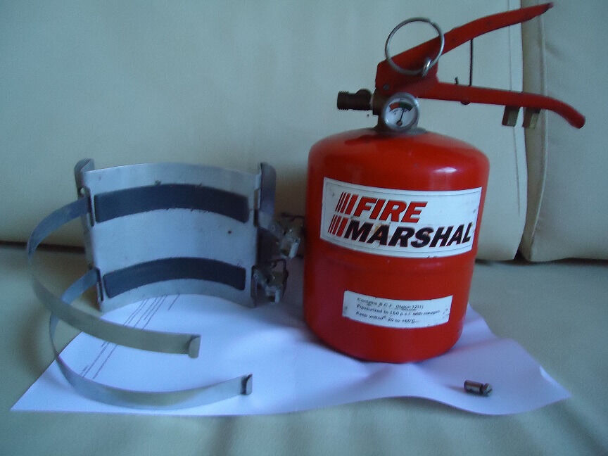 Racing or Rally built in Fire Extinguisher - Lifeline/Fire Marshal