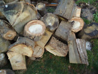 Hardwood Logs - OAK - ideal for log burners or open fires