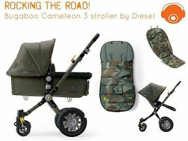 Limited edition bugaboo diesel