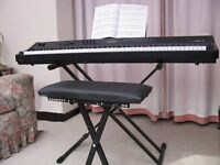 Electronic Stage Piano with full size keyboard.