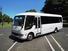 Mitsubishi Fuso Rosa bus with wheelchair hoist Woolloongabba Brisbane South West Preview