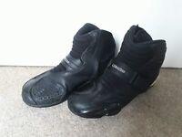 Ladies Alpine Stars Motorbike Boots- Size 5.5