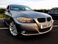 ((BMW 3 SERIES 2.0 SE Business Edition 4dr SAT NAV RED LEATHER FULLY LOADED HPI CLEAR))