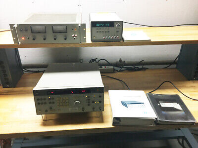 Bundle Agilent E3631a Power Supplyhp 6264b Power Supply Hp 3326a Synthesizer