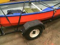 16 ' canoe with trailer