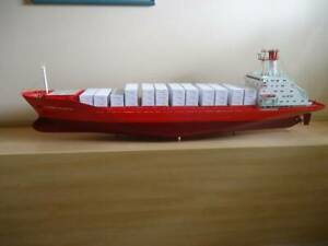 Large ship models, two for sale, 1:100 scale. Length approx 1.5m each.