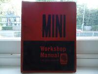 Original 1968 MIni Workshop manual