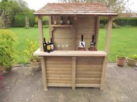 Garden bar built to order