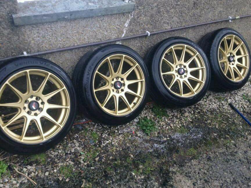 Jr11 Concave Gold Alloy Wheels In Plymouth Devon Gumtree