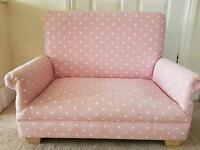 Kid double seat sofa