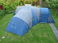 royal biarritz 6 man tent used twice