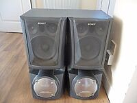 SONY SS XB80V FLOOR STANDING 4-WAY SPEAKERS FOR SALE