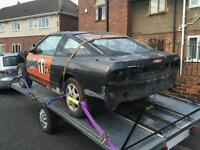 Nissan 200sx S13 rolling shell, project, drift car. Very little rot