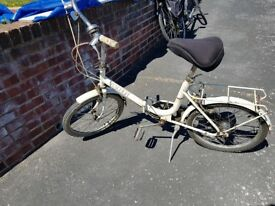 Raleigh Fold Up Bicycle