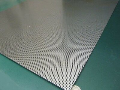 Perforated Staggered Steel Sheet .060 Thick X 24 X 24 .062 Hole Dia.