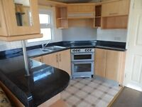 Stunning double glazed and centrally heated caravan for sale in norfolk, cambridgeshire,6 berth