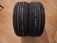 A pair of brand new NEXEN 205/50R/17 tyres