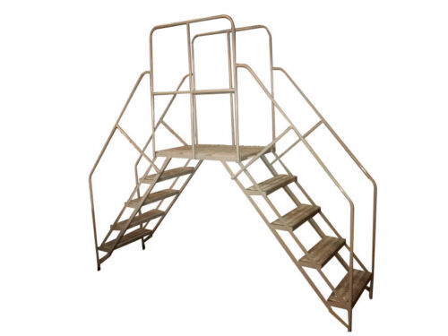 "Cotterman Double Entry Crossover Ladder 102"" x 50"" x 24"""