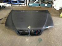 BMW bonnet carbon fibre wrapped