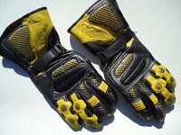 Diablo Motorcycle gloves - as new- £23