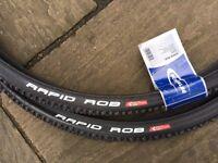 Schwalbe Rapid Rob tyres