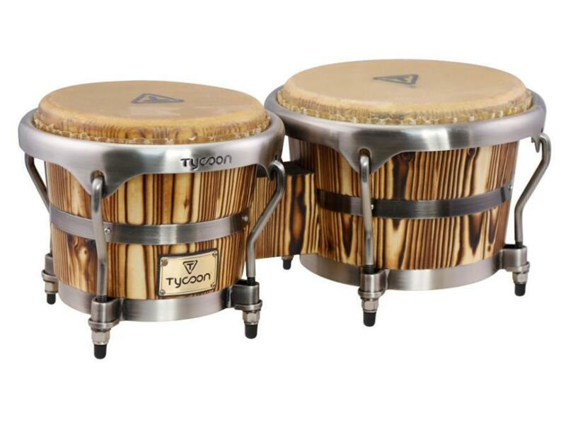TYCOON PERCUSSION Instrument Master Heritage BONGOS 7 & 8 ½ Inch Hand DRUMS