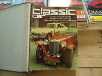 Thoroughbred and Classic Cars magazines from 1973-1995 - as new