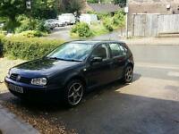 1.4 Volkswagen golf black 2002