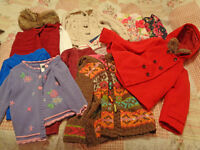 Girls Clothes BIG Bundle Age 3-4 - Coat, Cardigans, Dresses etc - 13 items!