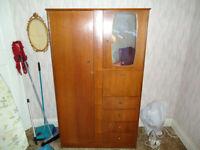 Cheap genuine Symbol vintage/retro wardrobe to clear