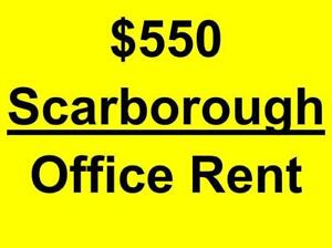*** Scarborough - $550 only - Commercial private office space available for rent in professional building