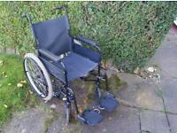 """Wheelchair Self Propelled Large 22"""" Wheels"""
