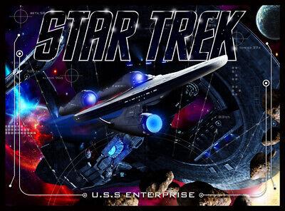 Star Trek Pinball Alternate Translite (2 versions)