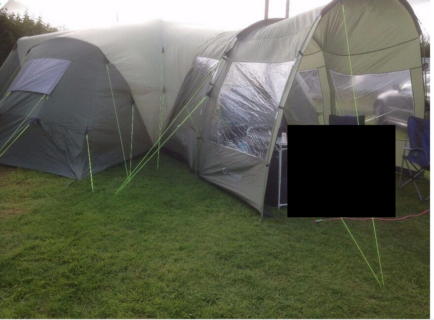 Hartford XXL - Super large family tent with porch extension 8 -12 people & Hartford XXL - Super large family tent with porch extension 8 -12 ...