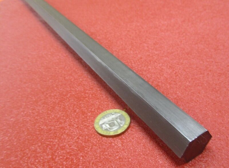 "12L14 Carbon Steel Hex Rod 3/4"" Hex x 3 Foot Length"