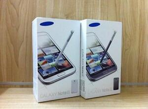 Samsung Galaxy NOTE 2 - New & Unlocked in Box with Warranty - Buy from a Store with Receipt - 4167229406 @ 219.99 $