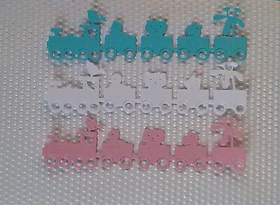 15 x Stanzteile  Kartenschmuck  Kartenaufleger Scrapbooking Basteln
