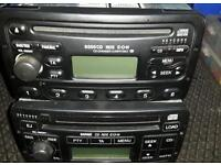 Ford focus cd players 6 cd changer