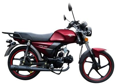 ZIPP JZV 50 Naked Bike 50ccm 4-Takt Motorrad 50 ccm Moped Mofa Roller NEU