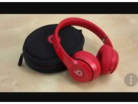 Dr Dre Headphones Red