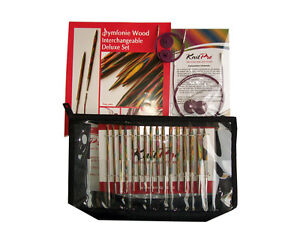 KnitPro Symfonie Wood Interchangeable Circular Needle Deluxe Set