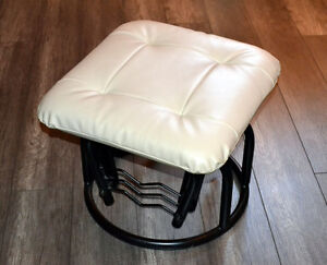 Excellent condition Cream Rocking foot stool chair