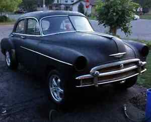 1950 chevy styleline deluxe for trade??
