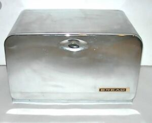 Vintage Lincoln Beauty Box Crome Bread Box