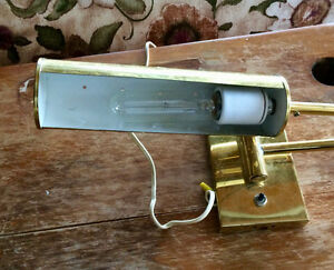 Vintage Brass Picture Lights