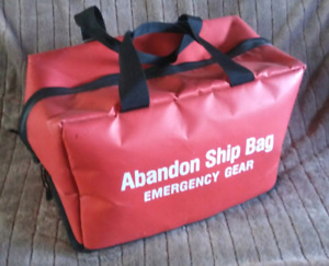 Marine Abandone Ship bag