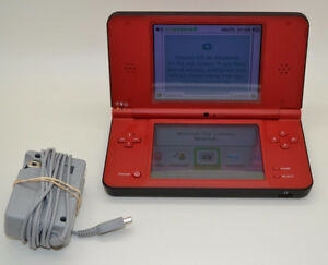 ***RED MARIO EDITION NINTENDO DSI XL + MANY GAMES AVAILABLE!***
