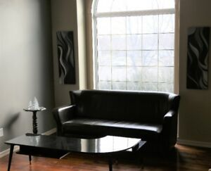 Contemporary Wingtip Sofa