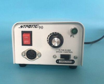 South Korea 35000rpm Strong90 Micromotor For Dental Laboratory Jewelry